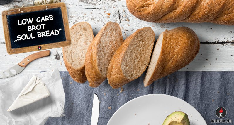 Low Carb Brot Soul Bread Ketofix