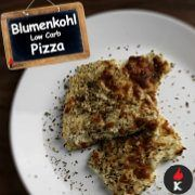 Blumenkohl Low-Carb Pizza