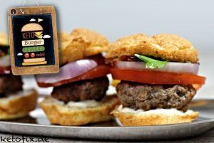 Keto Low Carb Mini Burger Ketofix Rezept