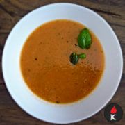 Low Carb Tomatensuppe LCHF Rezept