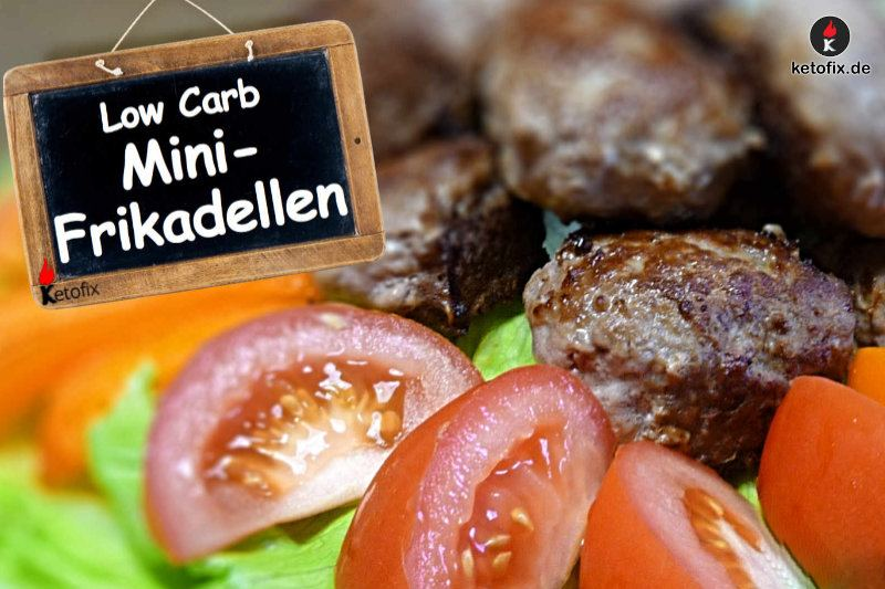 Mini Frikadellen Low Carb High Fat Rezept