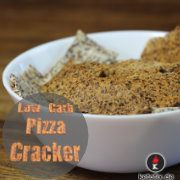 Pizza-Cracker Low Carb Rezept