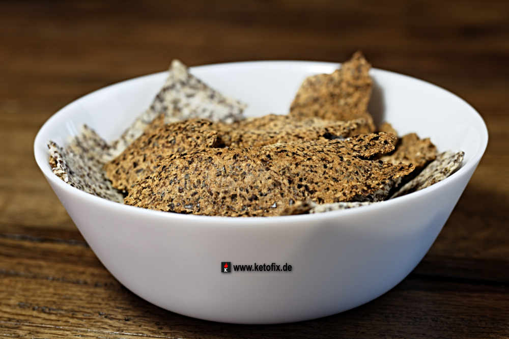 Cracker Low Carb Snack Rezept
