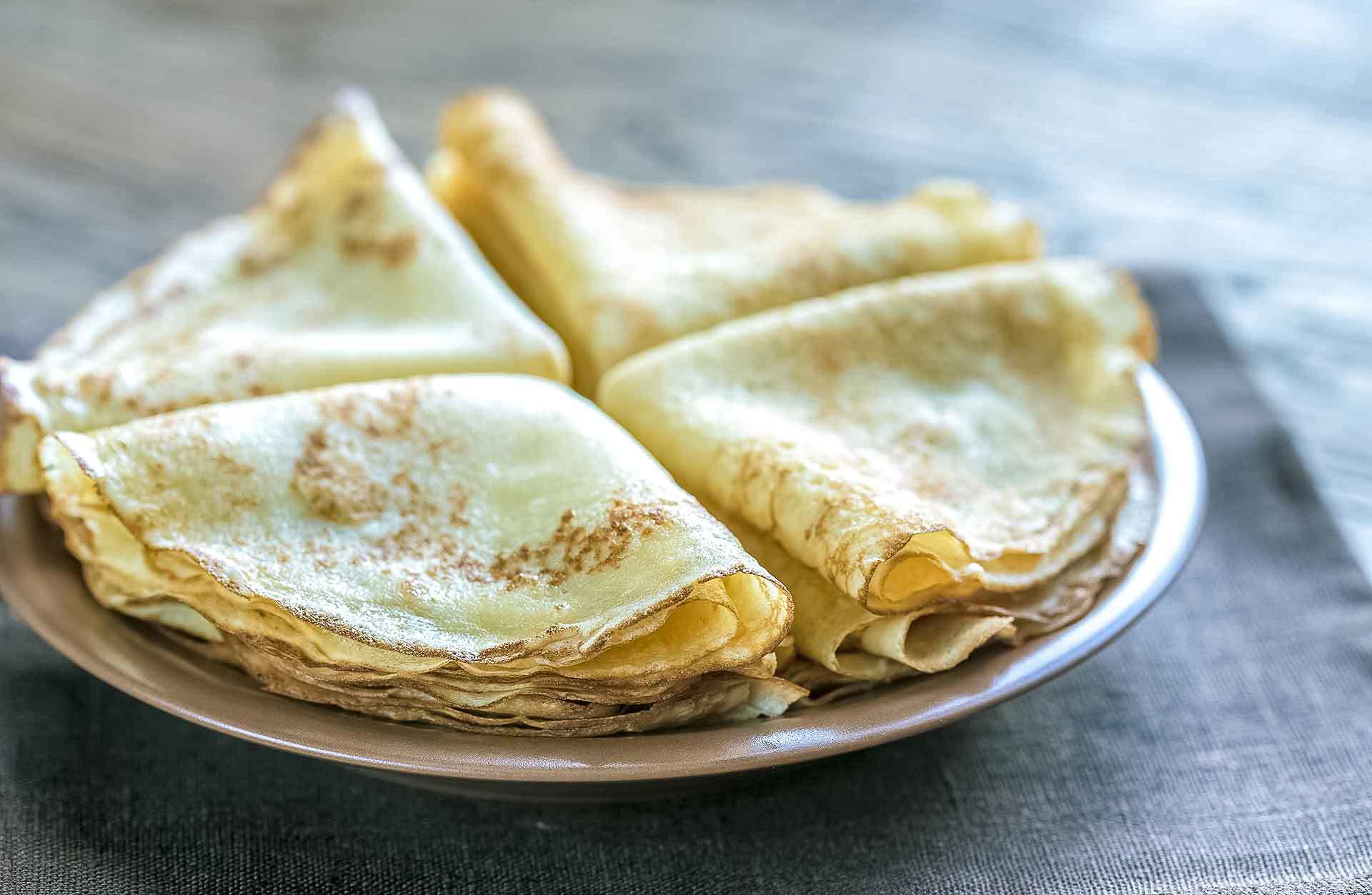 Keto Low Carb Crepes Rezept